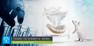 diabetic mice and teeth health
