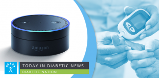 Amazon Alexa diabetes control