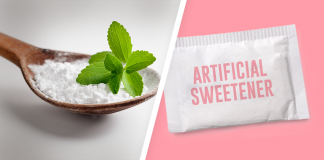 stevia vs artificial sweeteners