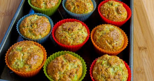 egg cottage cheese muffins