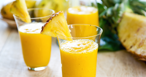 pineapple almond smoothie