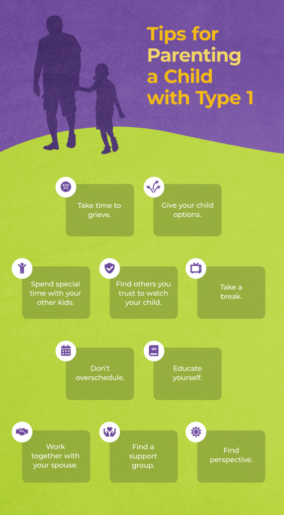 chart - tips for parenting a child with T1D
