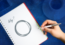 """notepad with """"Why?"""" written on it and a circle, what causes diabetes?"""