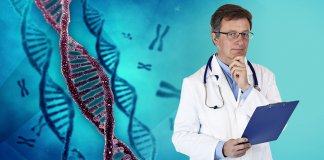 top diabetes news, rare gene cured type 1, doctor looking skeptical, DNA