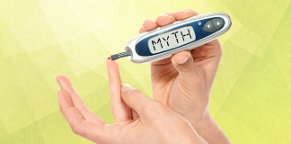 diabetes myths; testing blood sugar with monitor reading myth