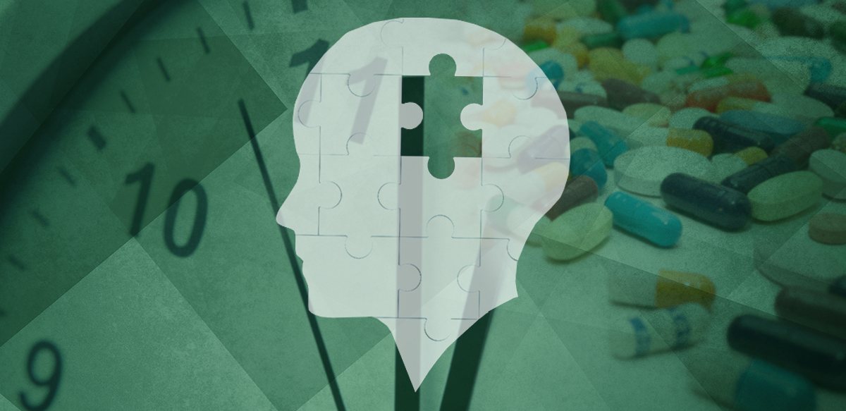 brain with puzzle piece; diabetes drugs for alzheimers