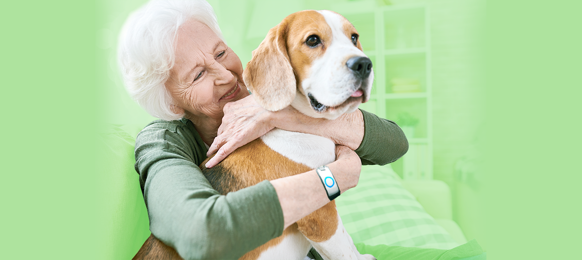 old woman hugging dog, diabetes news, dogs can help with diabetes