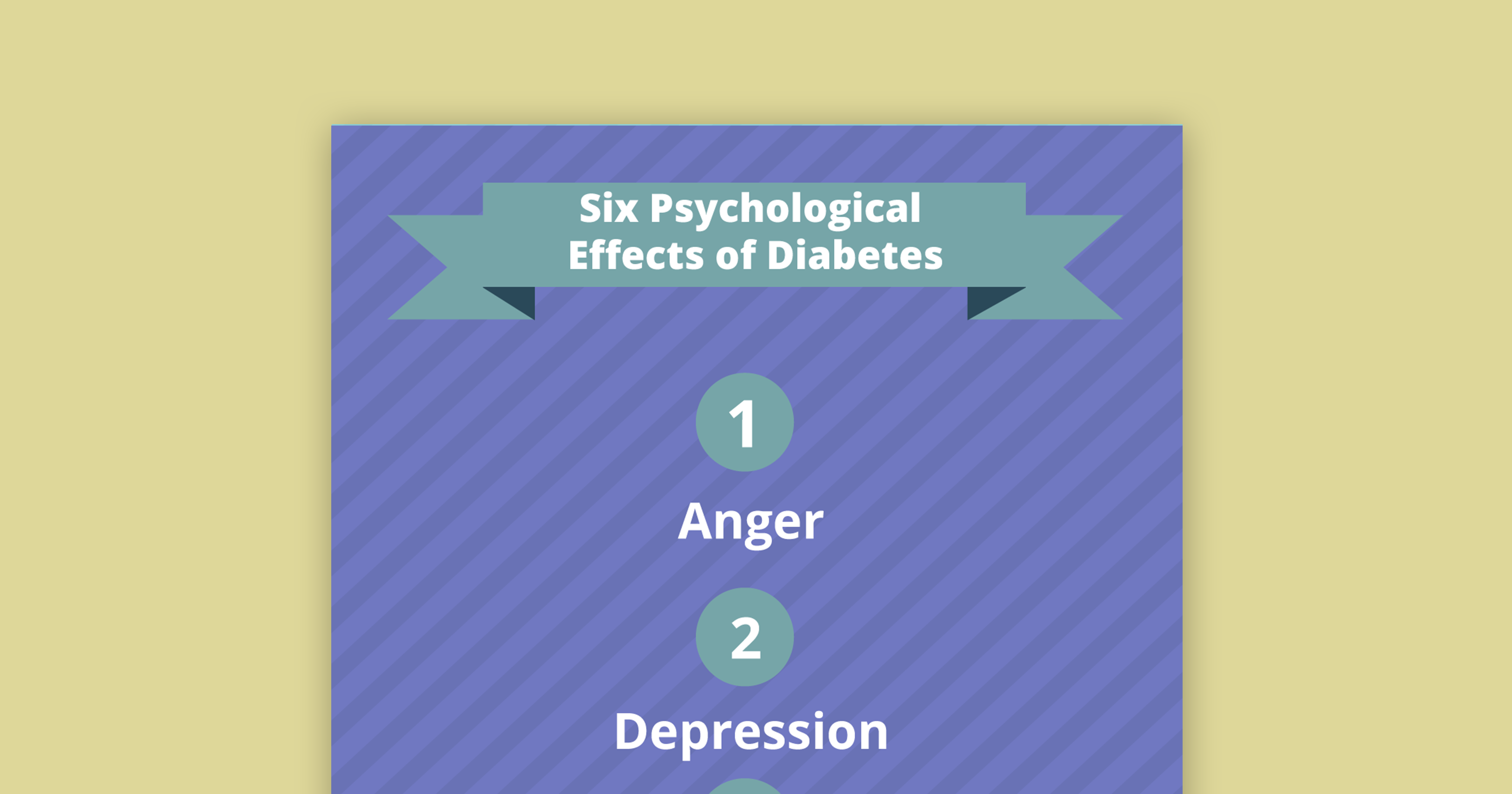 emotions, diabetes, psychological effects