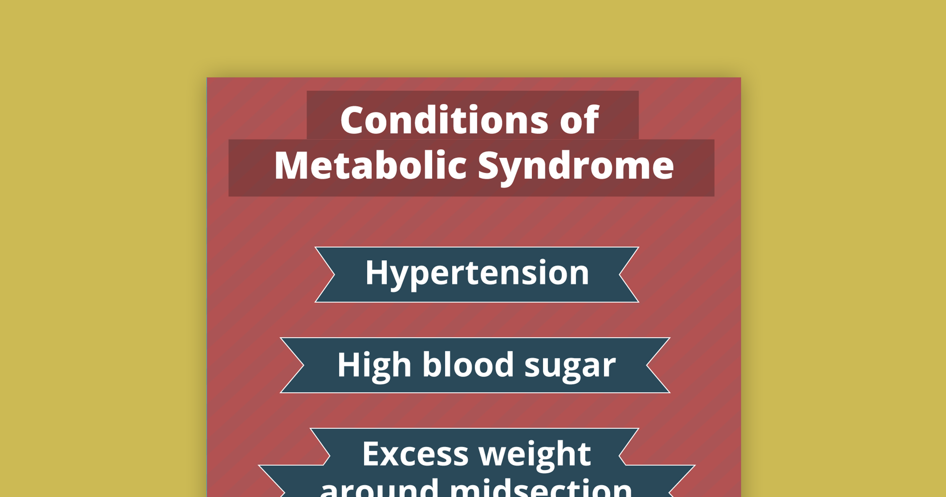 thumbnail infographic metabolic syndrome