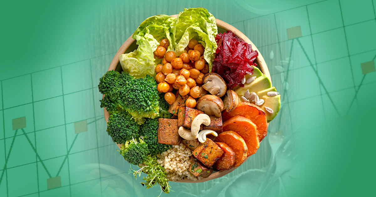 vegan, vegan diet, diabetes, research, vegan bowl