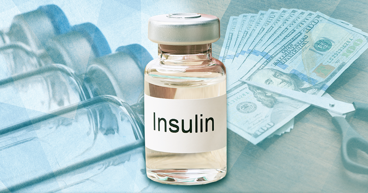 bottle of insulin lispro