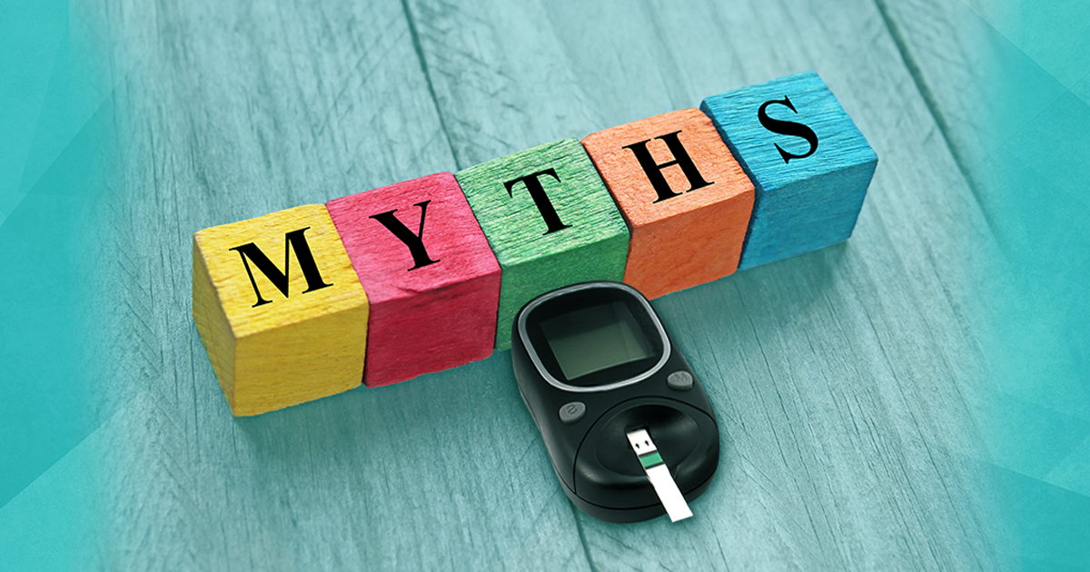 diabetes myths and facts, top diabetes myths, sugar, diabetes, myths, testing device