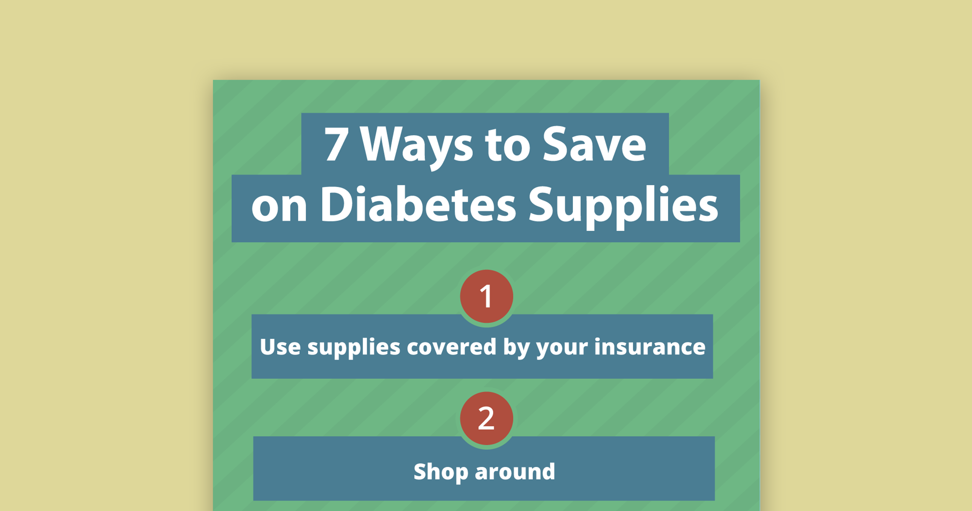 thumbnail save on diabetes supplies