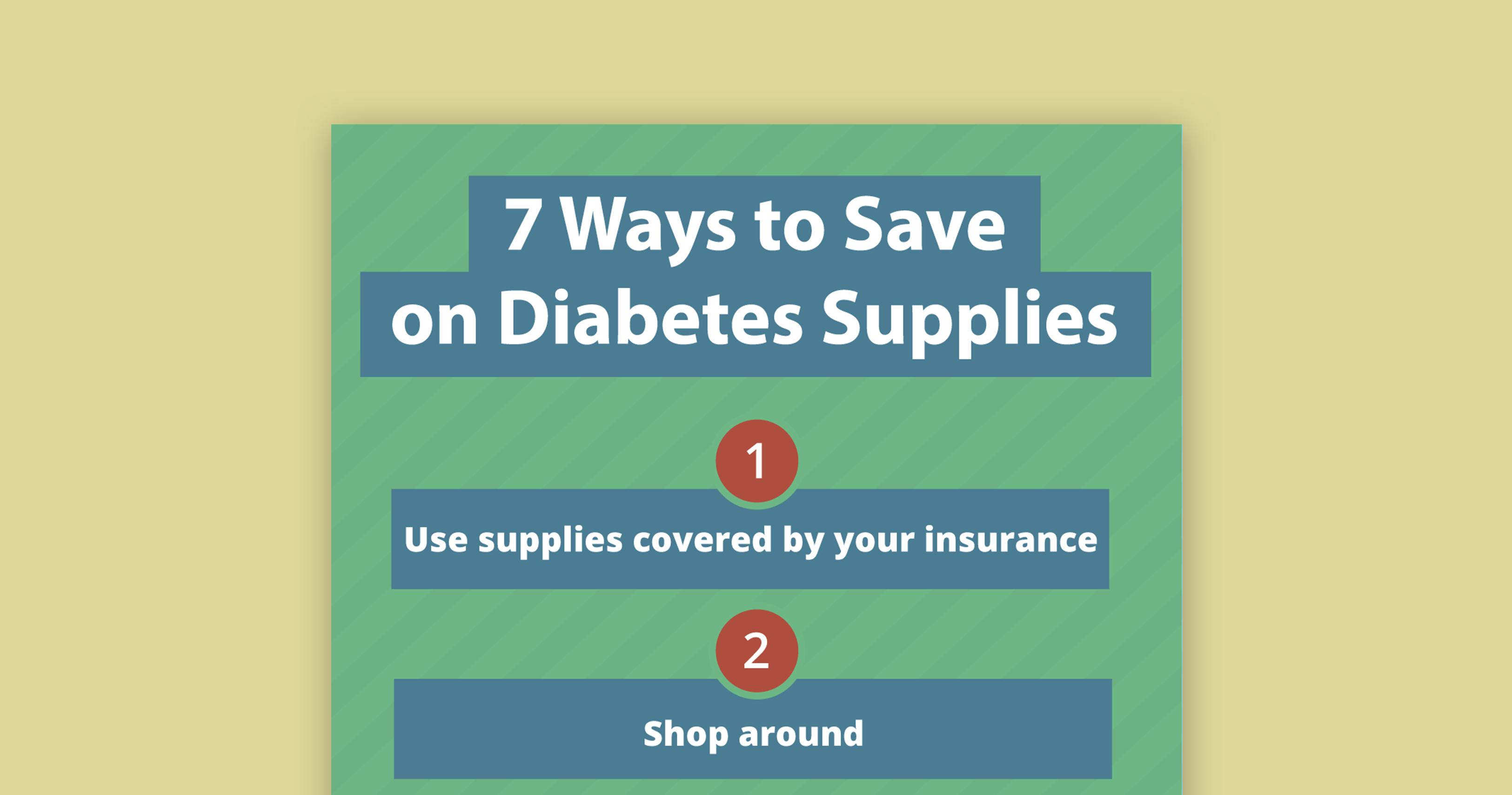 thumbnail save on diabetes supplies