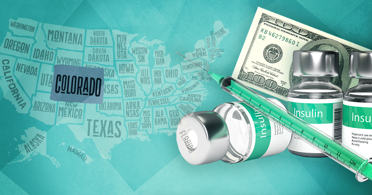 insulin and money over united states; insulin prices capped by coloardo