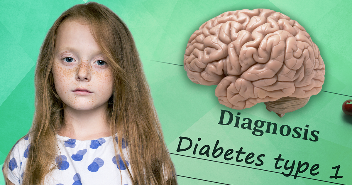 diabetes, news, type 1, brain growth, children